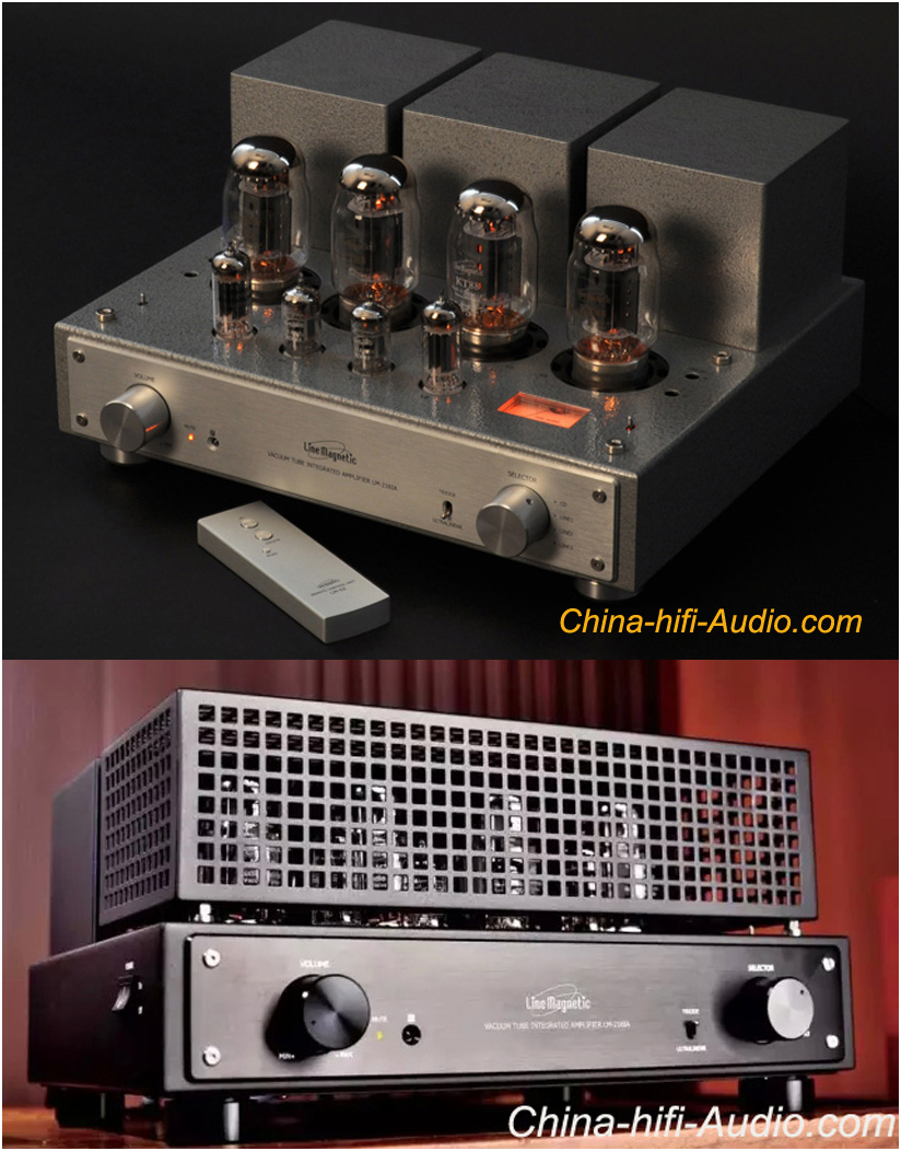 China-Hifi-Audio Announces New Line Magnetic Tube Integrated Amplifiers In Its Stock
