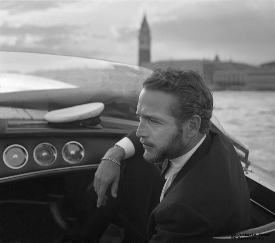 Редкие фотографии известных людей, отдыхающих в Венеции в 1950-60-е годы 1