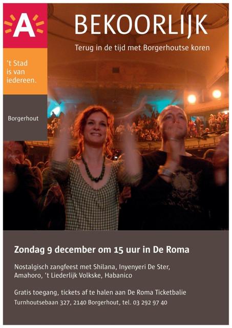 Affiche Bekoorlijk 2012