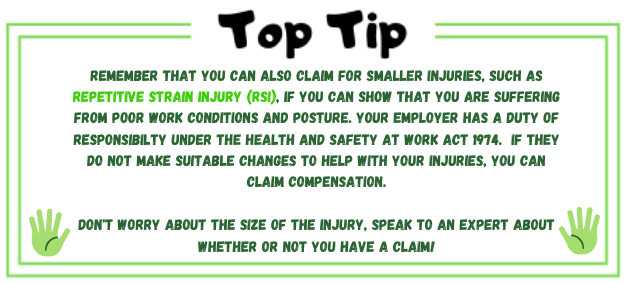 top tip about small injury