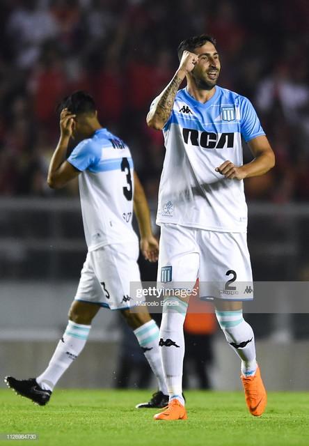 AVELLANEDA-ARGENTINA-FEBRUARY-23-Alejandro-Donatti-of-Racing-Club-celebrates-the-first-goal-of-his-t