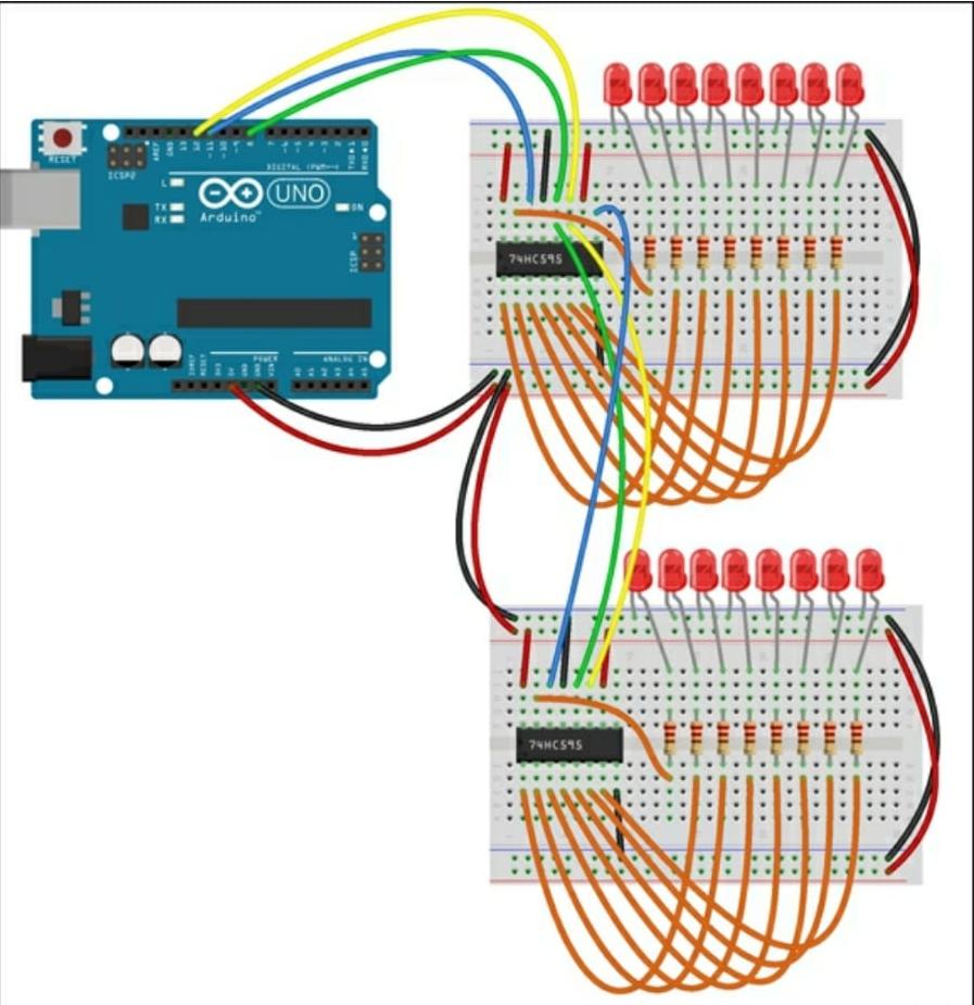 Arduino Grimoire 2-shift-registers