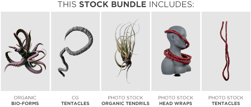 ultimate tentacle bundle stock photography included sets neostock
