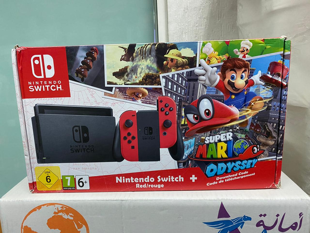 Les différents pack Switch Odyssey-FR
