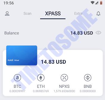 Oportunidade [Provado] Xwallet  - Android/iOS - Ganha um bonus em criptomoedas - Android - (Actualizado em Maio de 2019) XXwall