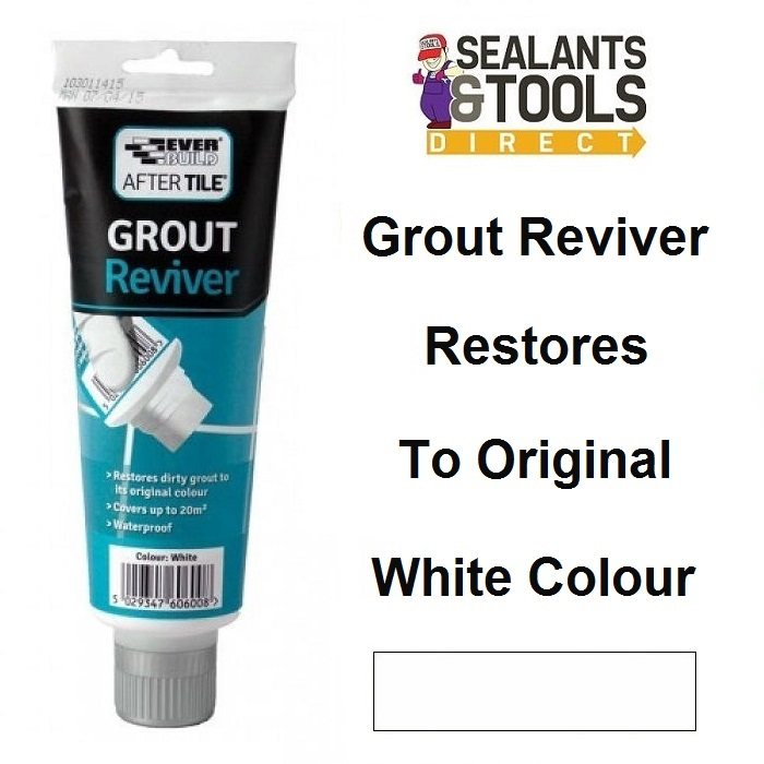 Everbuild After Tile Grout Reviver White ATREVIVEWE