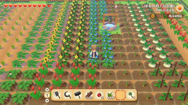 「牧場物語」系列首次在Nintendo SwitchTM平台推出全新製作的作品!  『牧場物語 橄欖鎮與希望的大地』 於今日2月25日(四)發售 001