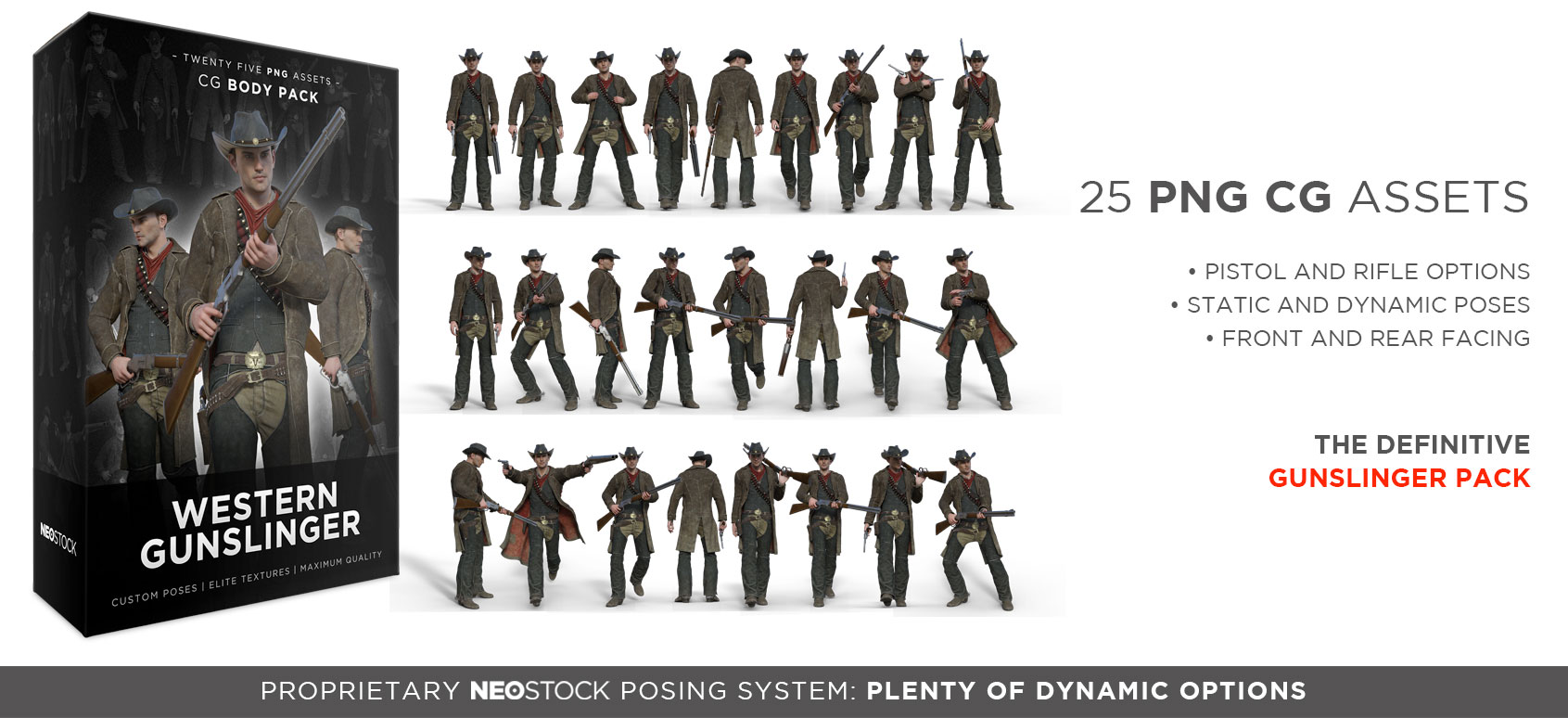 cg western gunslinger sales splash