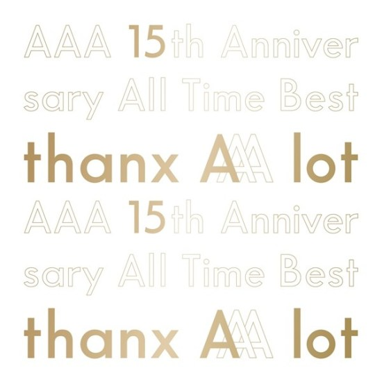 [Album] AAA – AAA 15th Anniversary All Time Best -thanx AAA lot-
