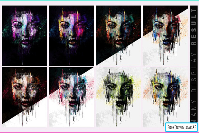 face-painting-photo-template-1160x772px28design-by-amorjesu293