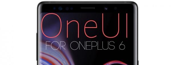ROM][PORT][9 0 0] Samsung OneUI [10 02 19] | OnePlus 6