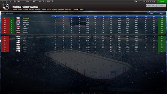 46 Season 01 Standings