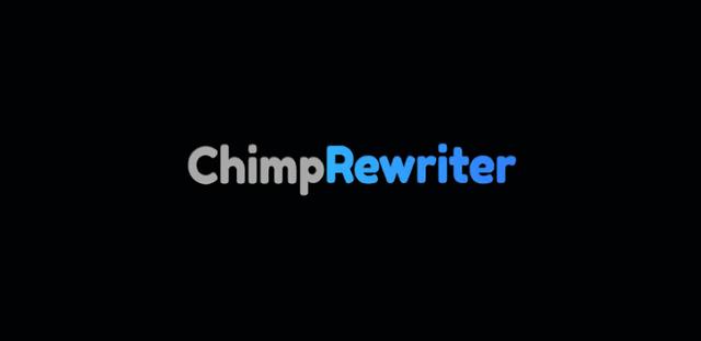 Chimp-Rewriter