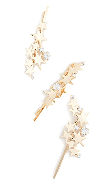 Shopbop Lelet NY Modern Star Pins -hair-accessory