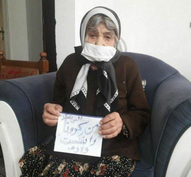 130-летняя иранка поборола коронавирус