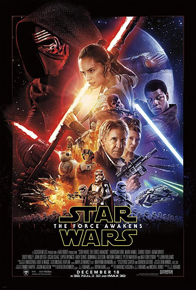 Star Wars Episode VII The Force Awakens (2015) Hindi Dual Audio 720p BluRay 950MB Download