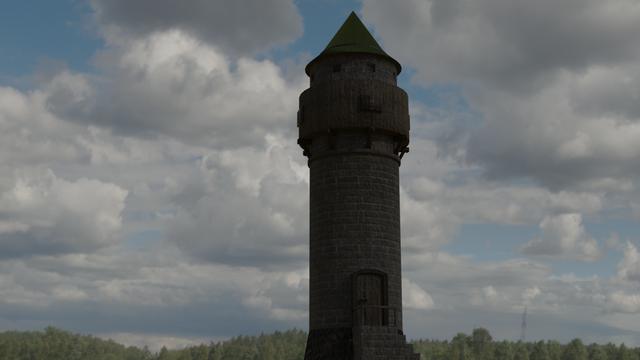 [Blender]Algunos renders. Torre