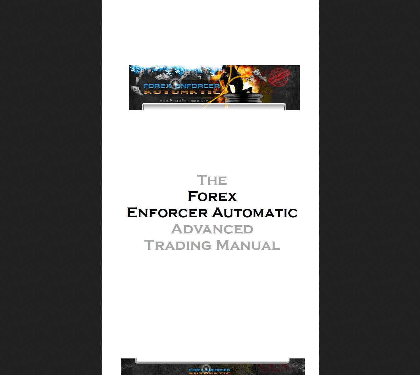 Forex Enforcer (Enjoy Free BONUS Forex Expert Advisor Angon Dollar 99%Winning trades)