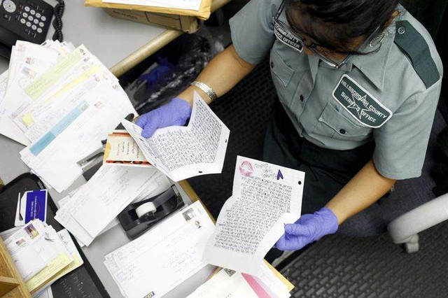Needing to send mail to an inmate? Here's a do and don't guide to help you along your way.