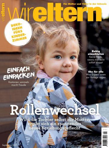 Cover: Wir Eltern Magazin No 09 2021
