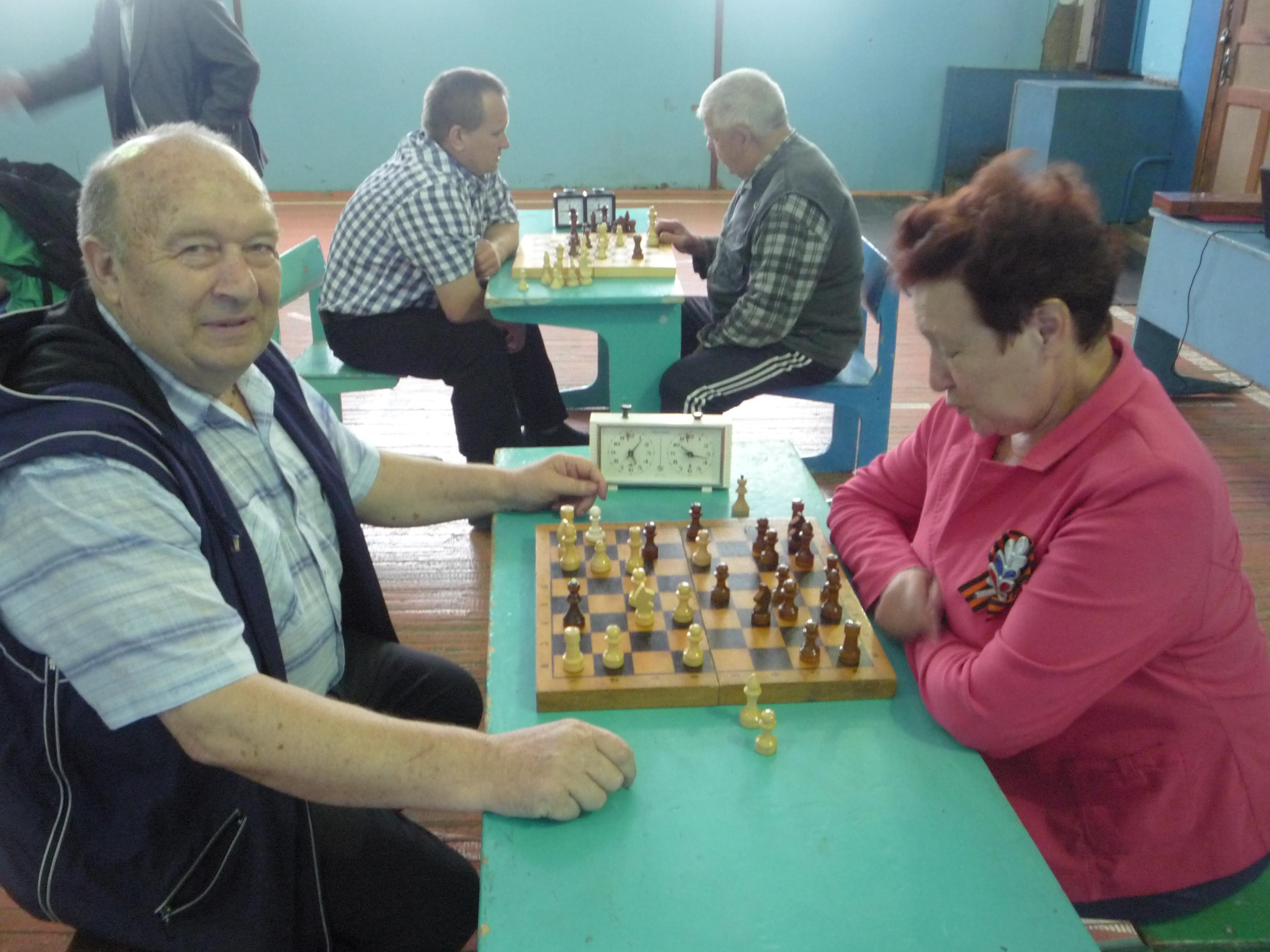 Изображение из альбома Районные соревнования по шахматам в рамках празднования 74й годовщины Великой Победы