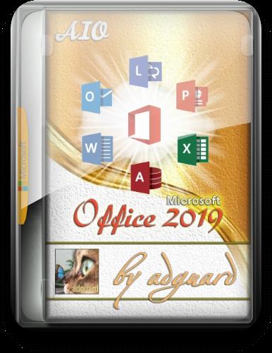 Microsoft Office 2019 Volume Channel [16.0.10375.20036] AIO (x86-x64) by adguard (v21.06.08) [En/Ru]