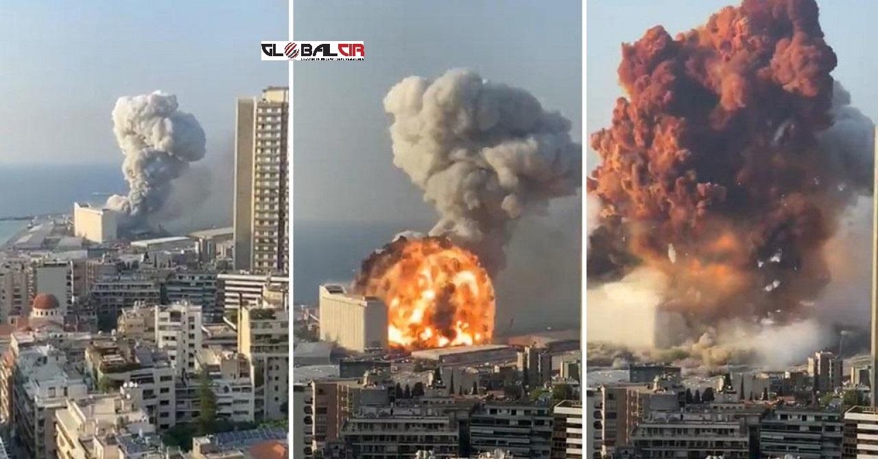 VIDEO) ŠOKANTNE SNIMKE: Bejrut uzdrmale silovite detonacije, desetine  mrtvih, tresao se cijeli grad, podrhtavanje osjetili čak i na Kipru! -  GlobalCir