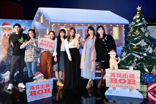 最紅街貓重返片場超靈性  《再見街貓BOB》首映會眾星雲集 012-BOB-Apple