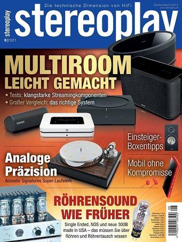 Cover: Stereoplay Magazin Die technische Dimension von HiFi No 08 2021