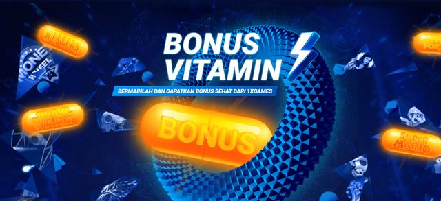 Aneka Bonus 1xGames | 1xVitamin Sehat Dengan Bonus Menarik Untuk Anda! Bonus-sehat-1xbet-1