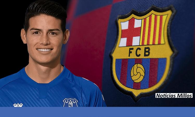 James Rodriguez Barcelona