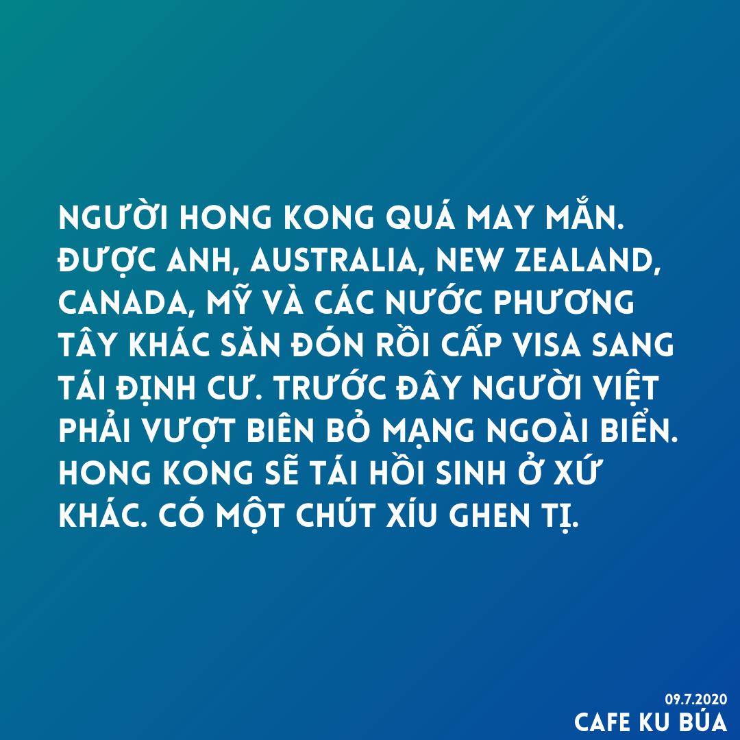 NGƯỜI HONG KONG ĐƯỢC VISA TÁI ĐỊNH CƯ