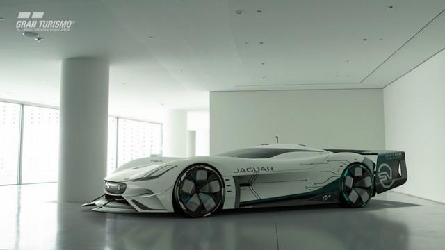 Jaguar Lève Le Voile Sur La Vision Gran Turismo SV : La Voiture De Course 100% Électrique Ultime Pour Les Passionnés De Course Automobile Jag-GTSV-Exterior-04-161220