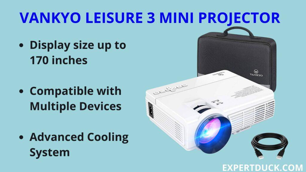 VANKYO LEISURE 3 MINI PROJECTOR- EXPERTDUCK.COM