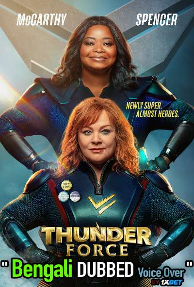 Thunder Force (2021) Bengali Dubbed (Voice Over) WEBRip 720p [Full Movie] 1XBET
