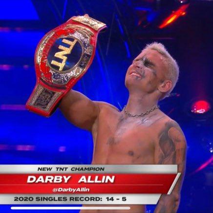 Darby Allin es el Nuevo Campeón TNT