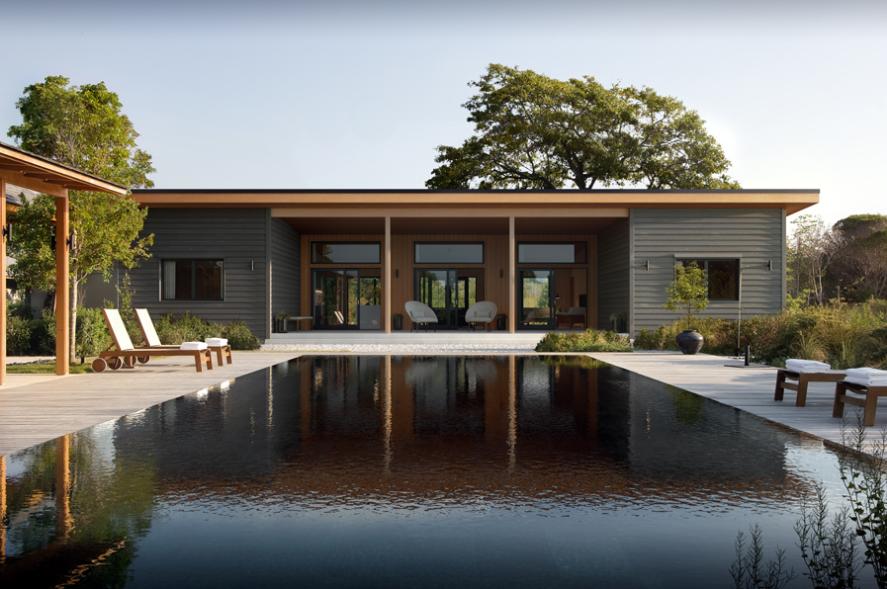 Rumah Sederhana Minimalis dengan Model Persegi Panjang