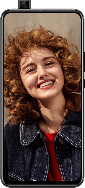 Huawei Y9 Prime 2019 Dual Sim, 128GB, 4G LTE - Midnight Black