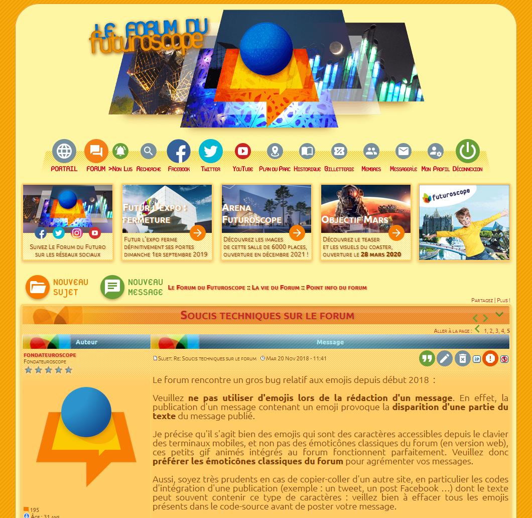Pages s'affichant parfois sans templates personnalisés Forum-template-d-faut