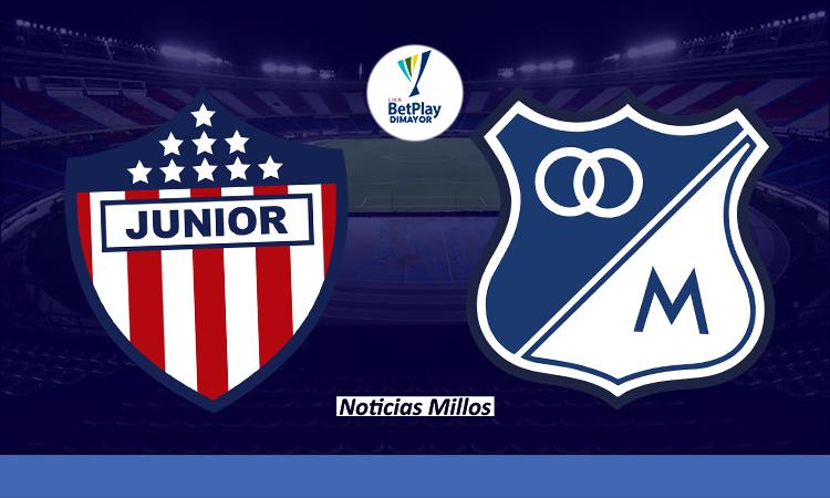 Junior vs Millonarios Win Sports