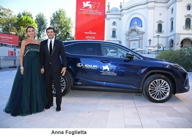 Lexus, voiture Officielle du 77e Festival International du Film de Venise Annafoglietta