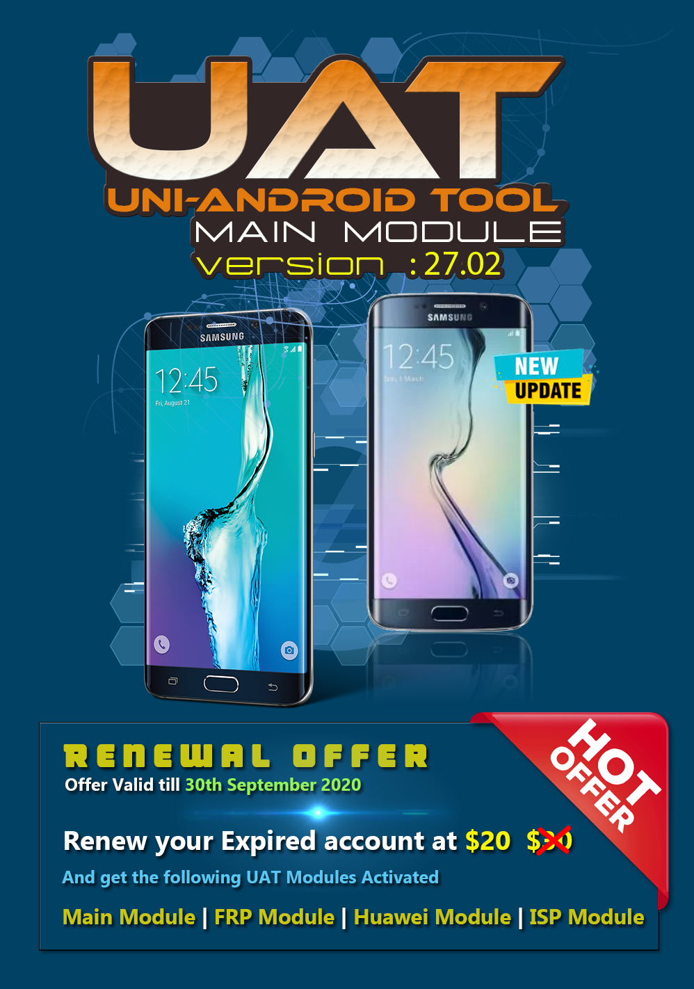 Uni-Android Tool [UAT] Version 27.02 [25.08.2020]
