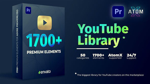 Youtube Pack - Transitions V2.1 27009072 -  Script & Premiere Pro Templates (Videohive)