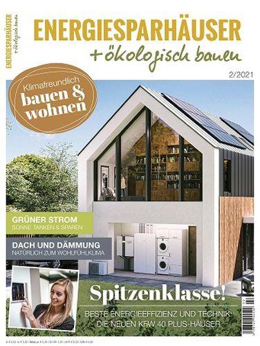 Cover: Energiesparhäuser + Ökologisch Bauen Magazin No 02 2021