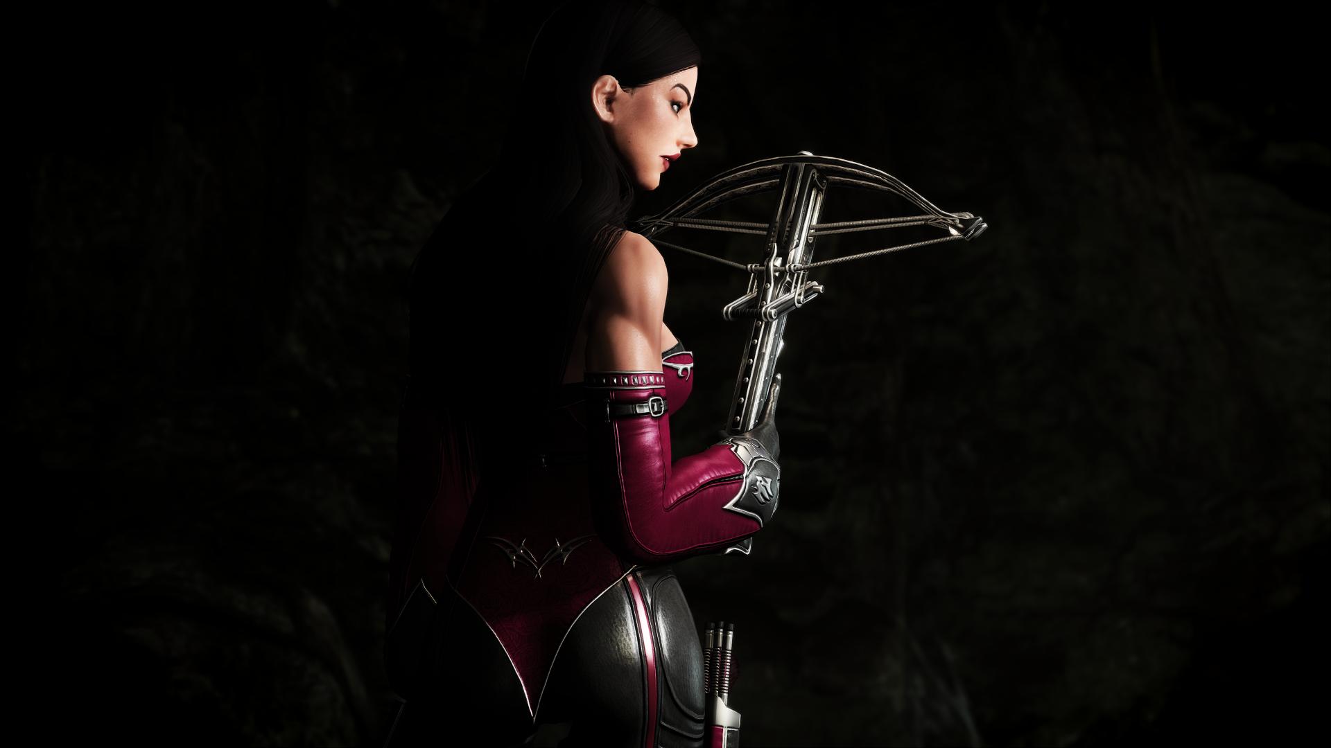 Скачать Броня охотницы на ведьм от DeserterX (SE) / DX Witch Hunter Armor