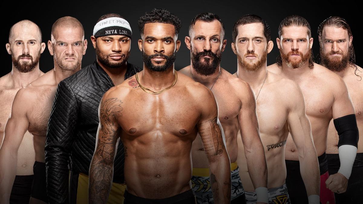 Lucha con escaleras por el Campeonato de parejas de NXT