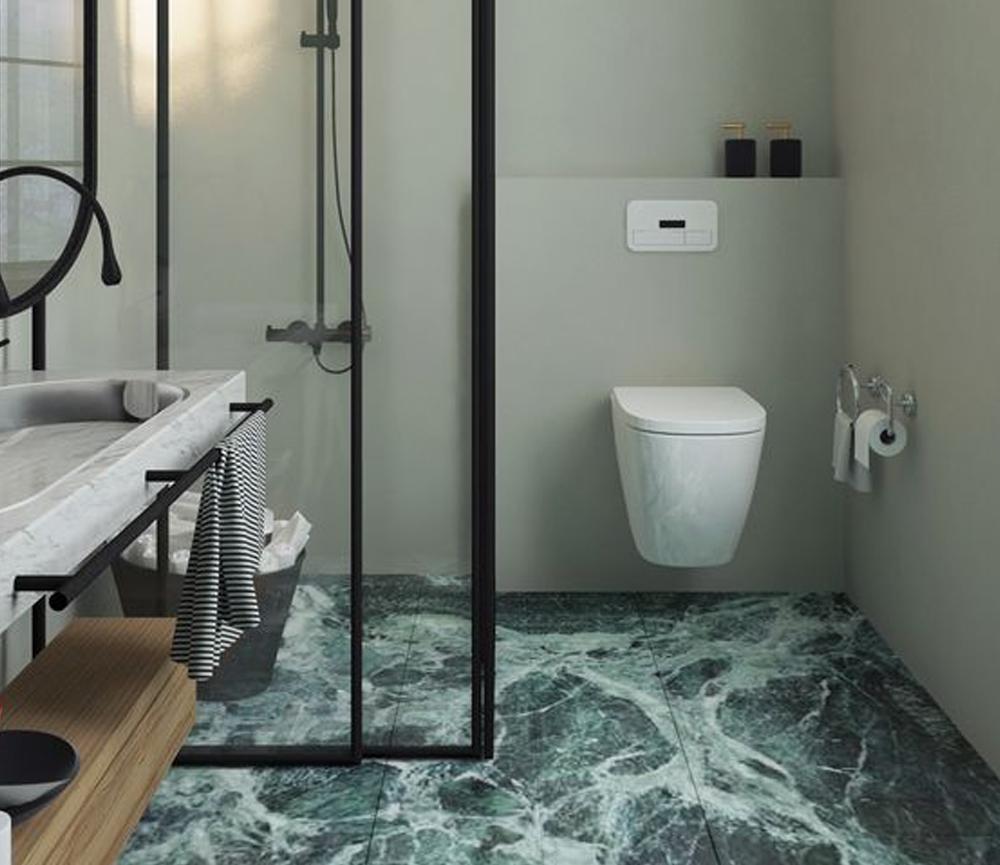 desain lantai granit Desain Lantai Granit Hijau