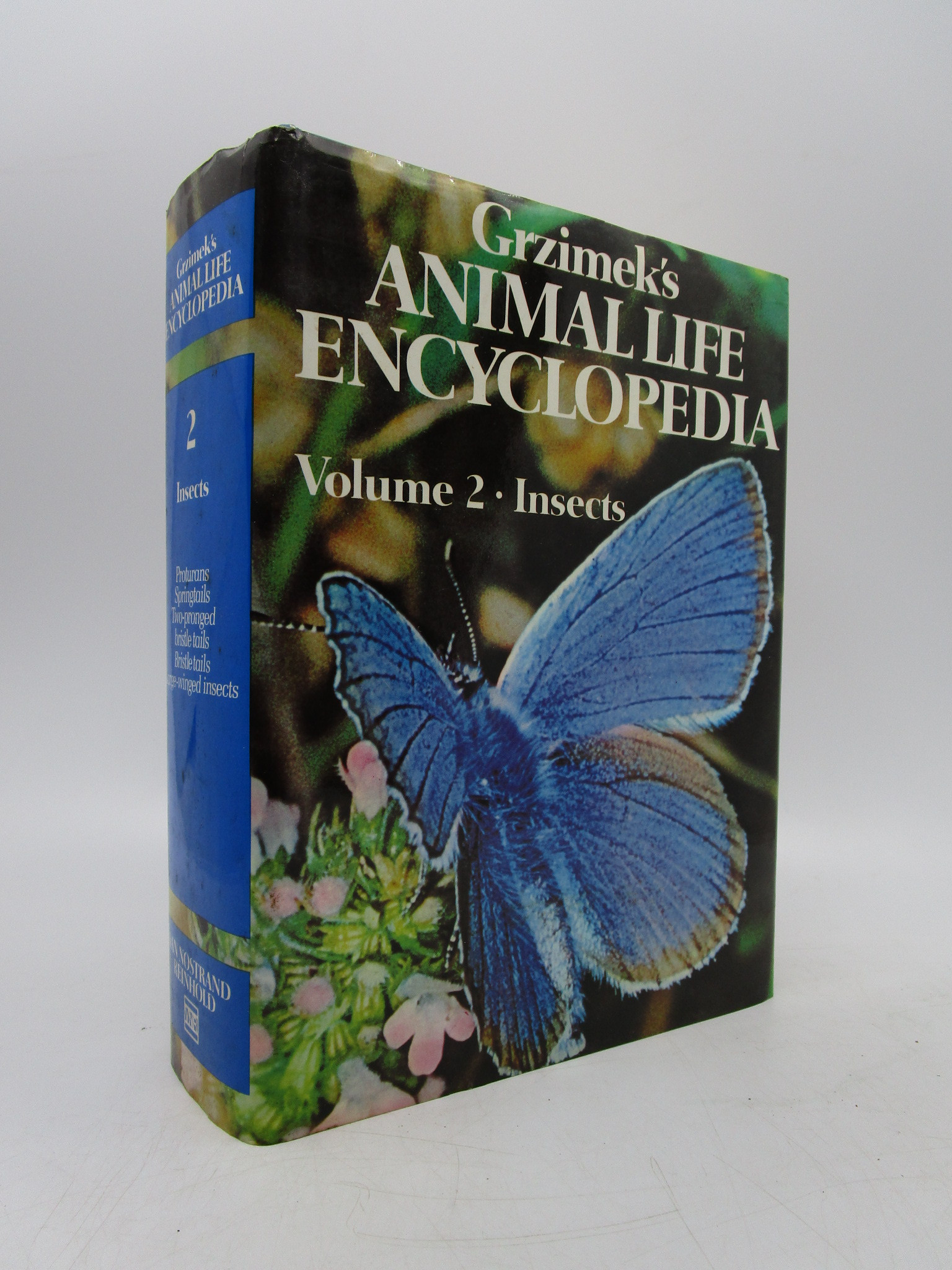 Image for Grzimek's Animal Life Encyclopedia Volume 2: Insects