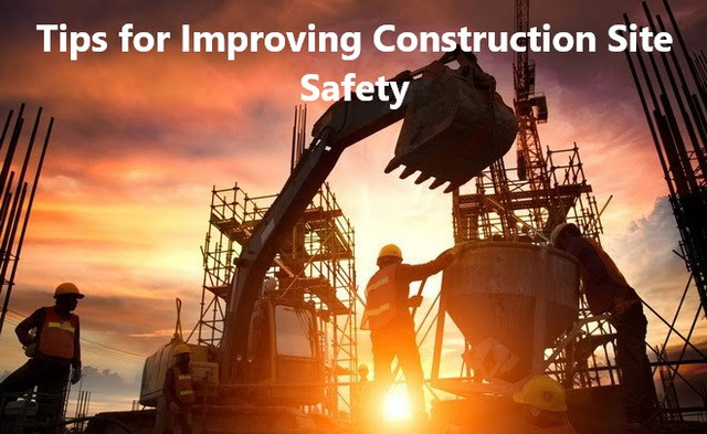Tips for Improving Construction Site Safety