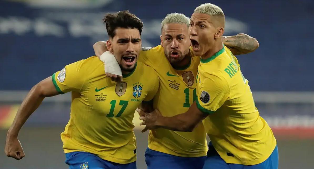 Video Highlights Brasile-Perù Copa America: risultato deciso da Paquetá su assist di Neymar. Stanotte Argentina-Colombia